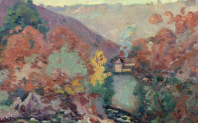 Picture nature, picture, Arman Hyomin, Armand Guillaumin, Landscape Of The Creuse. Passion