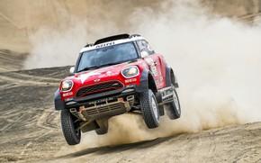 Picture Sand, Red, Mini, Dust, Sport, Desert, Speed, Race, Rally, Dakar, Dakar, SUV, Rally, The front, …