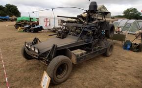 Picture flag, machine gun, Chenowth, Chenowth Advanced Light Strike Vehicle