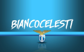 Picture wallpaper, sport, logo, football, Lazio, Serie A, Biancocelesti