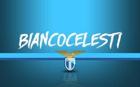 Wallpaper wallpaper, sport, logo, football, Lazio, Serie A, Biancocelesti