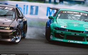 Picture sport, drift, Nissan, Global Warfare