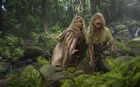 Picture cinema, girl, jungle, woman, movie, blonde, film, Amy Schumer, Snatched, Goldie Jeanne