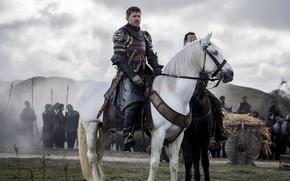 Wallpaper jaime lannister, Nikolaj Coster-Waldau, game of thrones, army, king layer, game of thrones, Jaime Lannister, ...