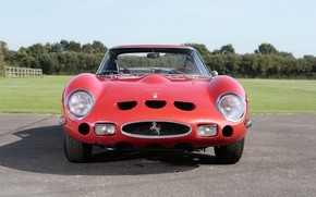 Picture Red, GTO, 1962, Classic car, Ferrari 250