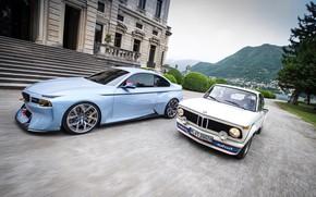 Picture Concept, Auto, Retro, BMW, House, Machine, Machine, Two, turbo, 2002, New, Old, BMW 2002, BMW …