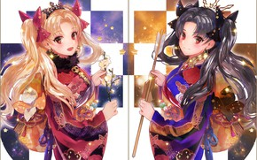 Picture girls, anime, art, Fate Grand order