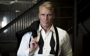 Picture look, pose, actor, Director, producer, writer, tuxedo, Dolph Lundgren, Dolph Lundgren