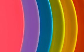 Wallpaper layer, arc, paint, rainbow, the volume
