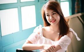 Picture smile, Asian, cutie