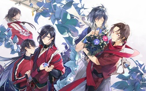 Picture anime, art, Touken Ranbu