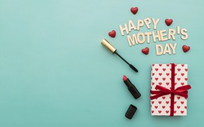 Picture holiday, gift, Love, mascara, happy, box, lipstick, gift, lipstick, family, mascara, hear, Mothers day