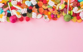 Wallpaper candy, sweets, yummy, marmalade