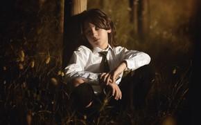Picture nature, boy, Cayetano