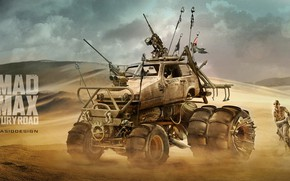 Picture Auto, Desert, Machine, Art, The film, Mad Max, Mad Max Fury Road, Yasid Design, NAKS, …