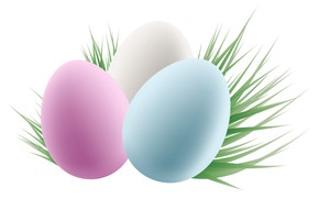 Picture grass, eggs, Easter, eggs