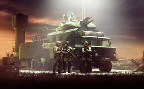 Picture transport, tower, military, randusfr, The mobile squad