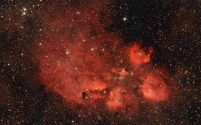Picture nebula, Scorpio, NGC 6334, in the constellation, emission