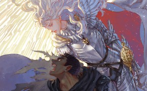 Picture demon, sword, game, armor, devil, anime, man, fight, ken, blade, Berserk, evil, manga, powerful, strong, …