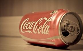Picture white, red, Bank, Coca-Cola, Coca-cola