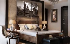 Picture books, the door, bedroom, triptych, BEDROOM area
