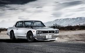 Picture Auto, Machine, Grey, Nissan, 1971, Nissan, Car, 2000, Skyline, Nissan Skyline, Metalik, 2000GT, Japanese, 330, …