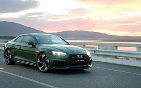 Picture sunset, Coupe, 2018, Audi RS5