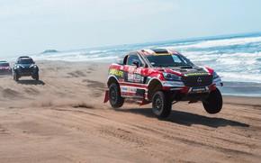 Picture Sand, The ocean, Mini, Sport, Desert, Speed, Shore, Race, Rally, Dakar, Dakar, SUV, Rally, Borgward, …