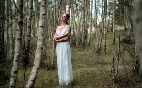 Picture girl, nature, Julia Wendt, Andreas-Joachim Lins