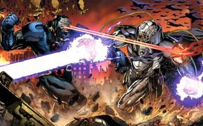 Picture Fight, Battle, Comic, Mobius, DC Comics, Justice League, Comics, Fight, Artist, Justice League, Artist, Darkseid, …