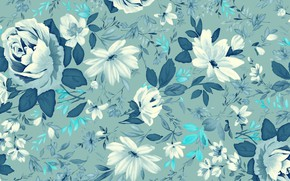 Picture flowers, background, texture, flowers