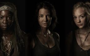 Picture The Walking Dead, Danai Gurira, Lauren Cohan, Emily Kinney, Walking, heroine