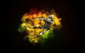 Picture game, two, computer game, cs:go, Counter-Strike:Global Offensive, Retaliatory strike:Global offensive