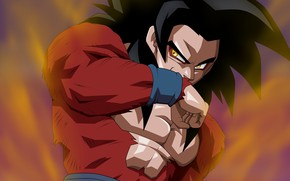 Picture game, alien, anime, manga, Son Goku, powerful, Dragon Ball, strong, Goku, Kakaroto, sper saiyan 4, …