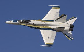 Picture F/A-18, fighter-bomber, Hornet, McDonnell Douglas