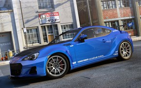 Picture Subaru, widebody, BRZ, dangeruss, sport compact RWD sports car, Sports coupe