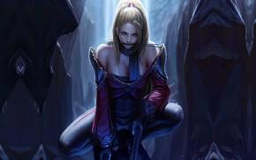 Wallpaper assassin, girl, art, TaeKwon Kim(A-rang), Duel Crossbow2, warrior, fantasy