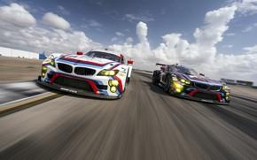 Picture Concept, Auto, Machine, Speed, Race, BMW, Art, Hommage, Two, Bavarian, BMW 3.0 CSL, Hommage R, …
