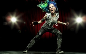 Wallpaper pose, Alissa White-Gluz, Arch Enemy, singer