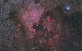 Picture space, nebula, North America, Pelican, 20160831