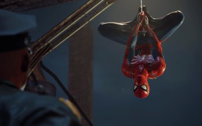 Picture The game, Web, Costume, Hero, Mask, Superhero, Hero, Web, Police, Marvel, COP, Spider-man, Game, Comics, …