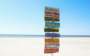 Picture sea, beach, index