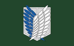 Picture green, game, anime, wings, asian, manga, japanese, oriental, asiatic, Attack on Titan, Shingeki no Kyojin, …