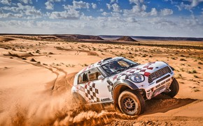 Picture Sand, Clouds, Mini, Mountains, Dust, White, Sport, Desert, Speed, Race, Day, Hills, Rally, Rally, The …