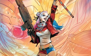 Wallpaper Shorts, Villain, Hammer, Weapon, Katana, Suicide Squad, Harley Quinn, Captain Boomeran, Neckline, Villains, Villains, DC ...