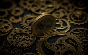 Picture macro, time, money, coin, gear