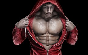 Picture hood, muscle, muscle, muscles, press, athlete, Bodybuilding, bodybuilder, abs, bodybuilder