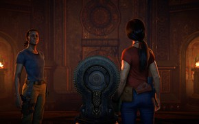 Picture gun, pistol, game, weapon, brunette, Uncharted, Uncharted: The Lost Legacy