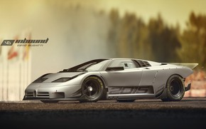 Picture Bugatti, Grey, 110, 2015, Yasid Design, Yasid Oozeear, YASIDDESIGN, Bugatti EB110, Bugatti EB-110, Bugatti EB110 …