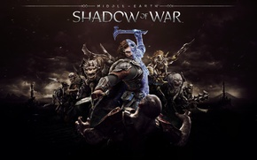 Picture Middle-earth: Shadow of War, Game, Thevideogamegallery.com, Art